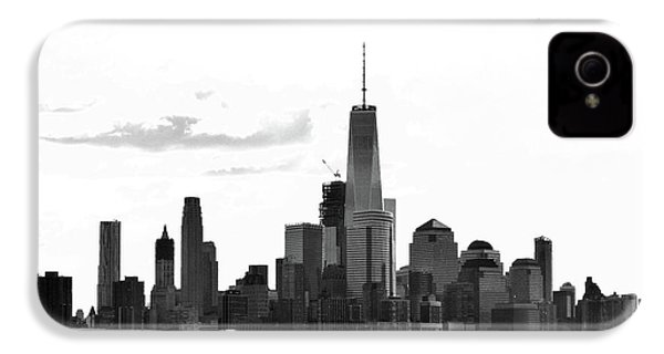 Manhattan Skyline No. 17-2 IPhone 4 / 4s Case by Sandy Taylor