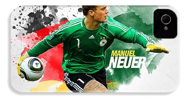 Manuel Neuer IPhone 4 Case