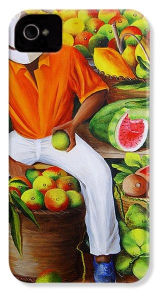 Manuel The Caribbean Fruit Vendor  IPhone 4 Case