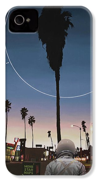 Map Of The Stars IPhone 4 Case by Scott Listfield