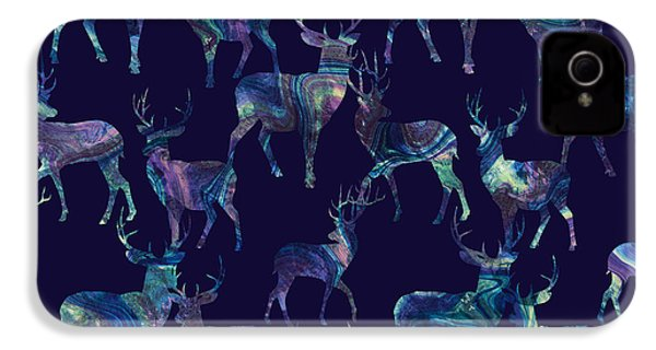 Marble Deer IPhone 4 Case by Varpu Kronholm