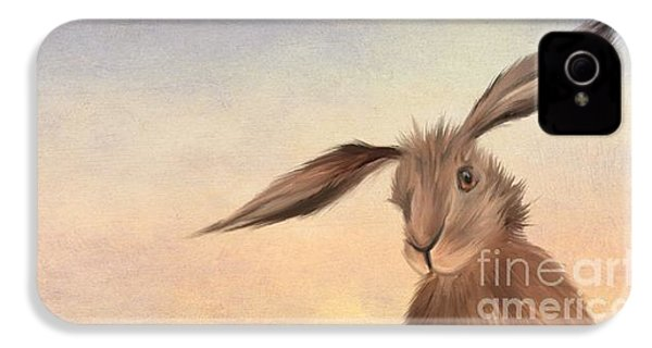 March Hare IPhone 4 Case by John Edwards