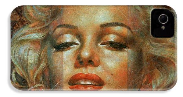 Marilyn Monroe IPhone 4 / 4s Case by Arthur Braginsky
