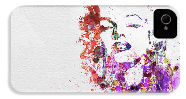 Marilyn Monroe IPhone 4 / 4s Case by Naxart Studio