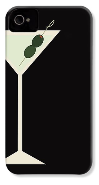 Martini IPhone 4 Case by Julia Garcia