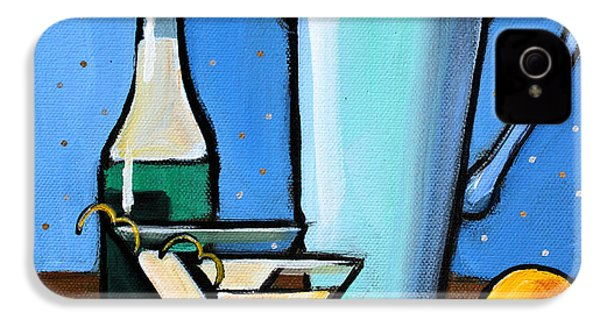 Martini Night IPhone 4 Case by Toni Grote