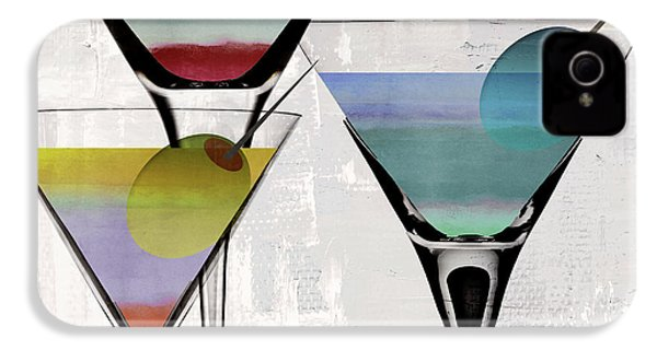 Martini Prism IPhone 4 Case by Mindy Sommers