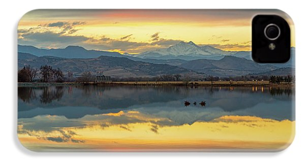 IPhone 4 Case featuring the photograph Marvelous Mccall Lake Reflections by James BO Insogna
