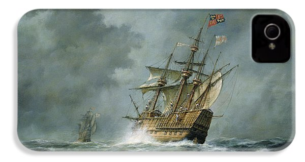 Mary Rose  IPhone 4 / 4s Case by Richard Willis