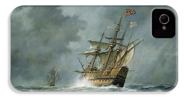 Mary Rose  IPhone 4 Case by Richard Willis