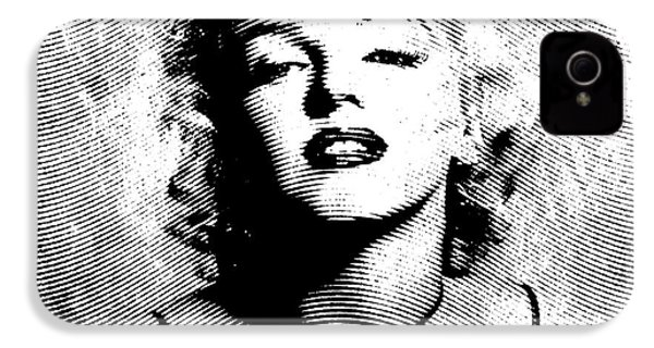 Marilyn Monroe - 04a IPhone 4 / 4s Case by Variance Collections