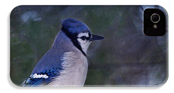 Me Minus You - Blue IPhone 4 / 4s Case by Evelina Kremsdorf