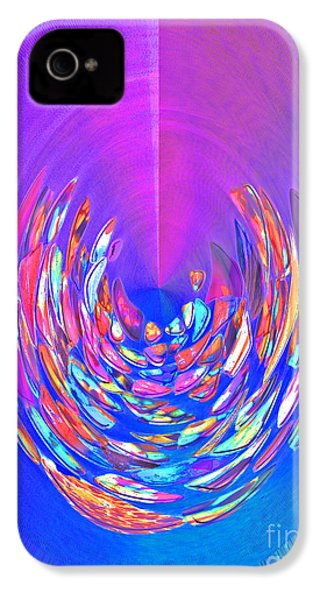 IPhone 4 Case featuring the photograph Meditation In Blue by Nareeta Martin