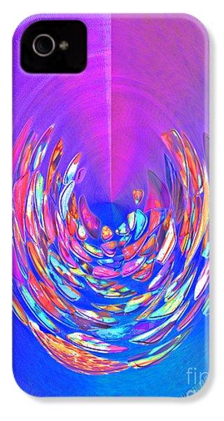 Meditation In Blue IPhone 4 Case by Nareeta Martin
