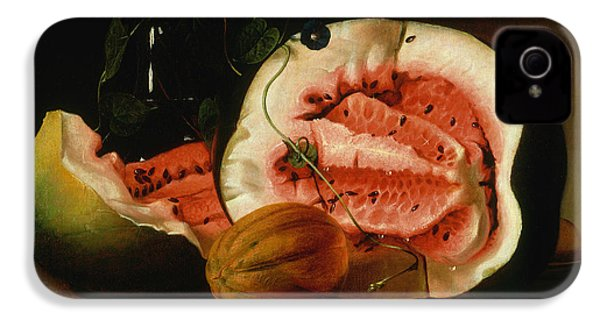 Melons And Morning Glories  IPhone 4 Case