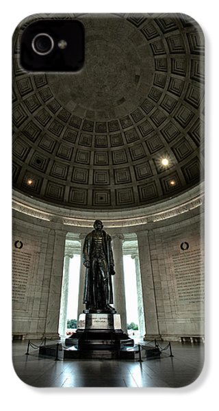 Memorial To Thomas Jefferson IPhone 4 Case by Andrew Soundarajan