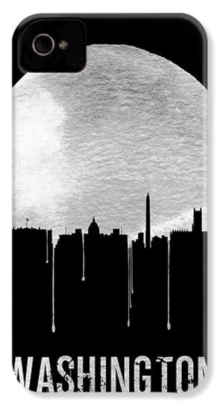 Memphis Skyline Black IPhone 4 Case by Naxart Studio