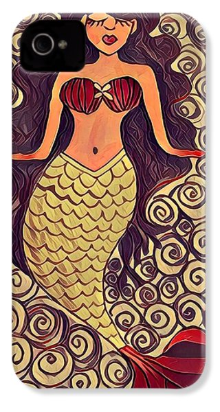 Mermaid Dreams IPhone 4 Case