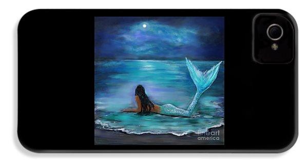 Mermaid Moon And Stars IPhone 4 Case