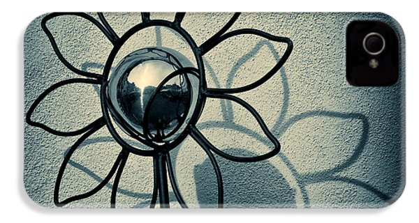 Metal Flower IPhone 4 Case by Dave Bowman