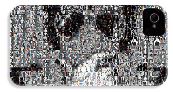 Michael Jackson Glove Montage IPhone 4 / 4s Case by Paul Van Scott