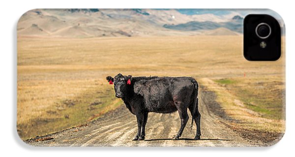 Middle Of The Road IPhone 4 Case by Todd Klassy