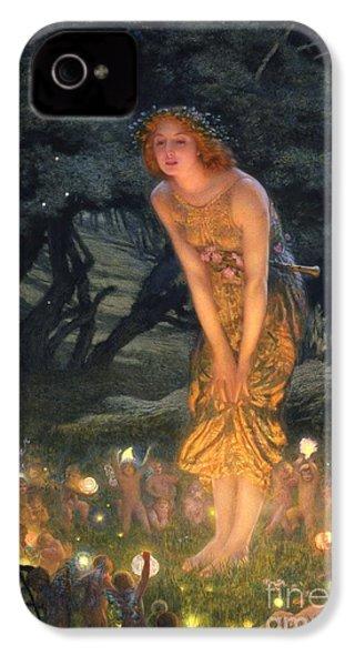 Midsummer Eve IPhone 4 Case by Edward Robert Hughes