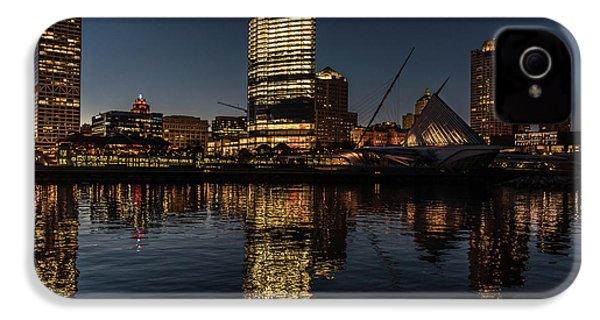 Milwaukee Reflections IPhone 4 Case by Randy Scherkenbach