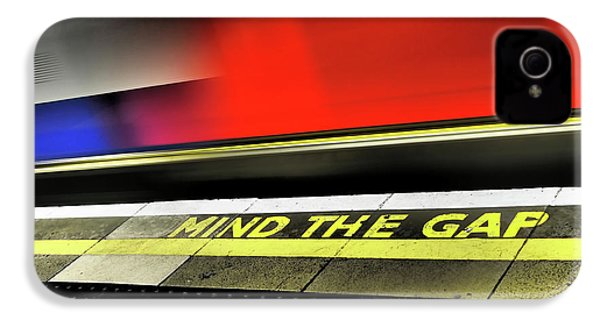 Mind The Gap IPhone 4 / 4s Case by Rona Black