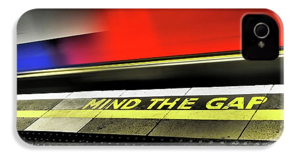 Mind The Gap IPhone 4 Case by Rona Black