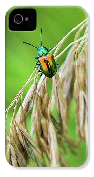 IPhone 4 Case featuring the photograph Mini Metallic Magnificence  by Bill Pevlor