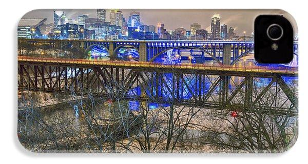 Minneapolis Bridges IPhone 4 Case by Craig Voth