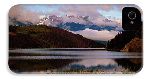 Misty Mountain Morning IPhone 4 Case by Karen Shackles