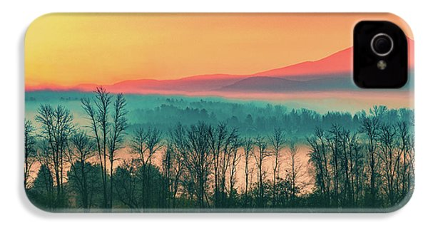 Misty Mountain Sunrise Part 2 IPhone 4 / 4s Case by Alan Brown