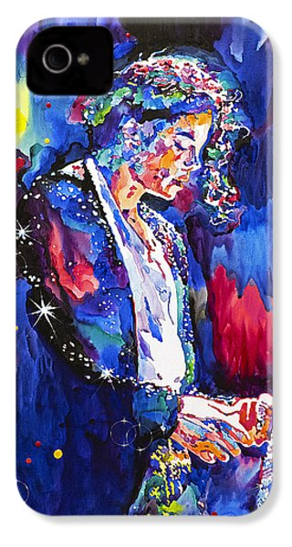 Mj Final Performance II IPhone 4 Case by David Lloyd Glover