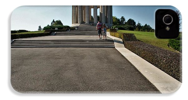 IPhone 4 / 4s Case featuring the photograph Montsec American Monument by Travel Pics