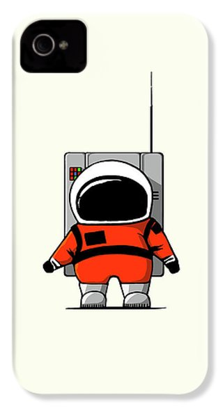 Moon Man IPhone 4 Case by Nicholas Ely