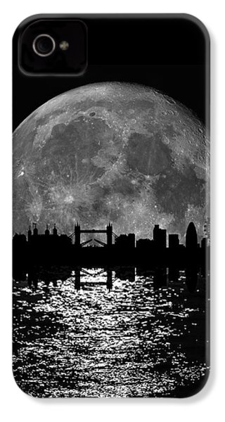 Moonlight London Skyline IPhone 4 Case