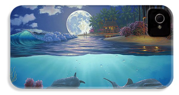 Moonlit Sanctuary IPhone 4 Case