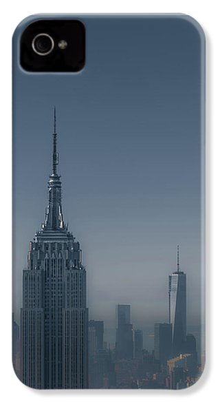 Morning In New York IPhone 4 Case by Chris Fletcher