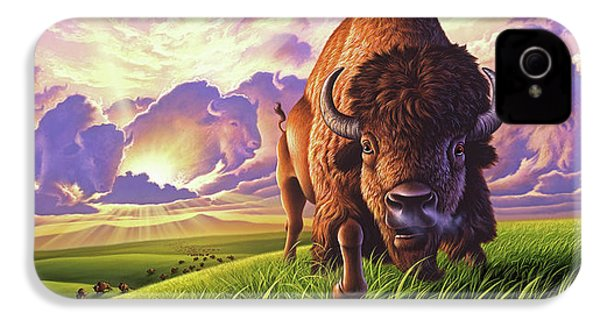 Morning Thunder IPhone 4 Case by Jerry LoFaro