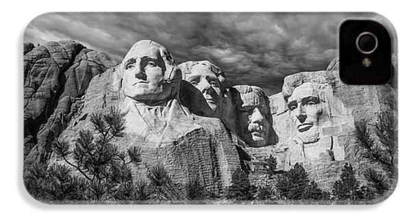 Mount Rushmore II IPhone 4 Case by Tom Mc Nemar