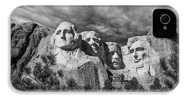 Mount Rushmore II IPhone 4 Case by Tom Mc Nemar