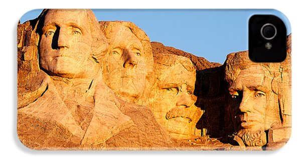 Mount Rushmore IPhone 4 Case