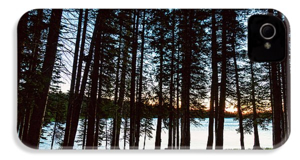 IPhone 4 Case featuring the photograph Mountain Forest Lake by James BO Insogna
