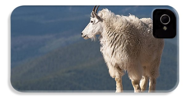 IPhone 4 Case featuring the photograph Mountain Goat by Gary Lengyel