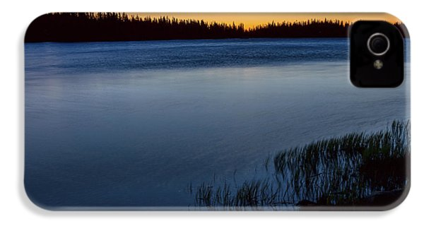 IPhone 4 Case featuring the photograph Mountain Lake Glow by James BO Insogna
