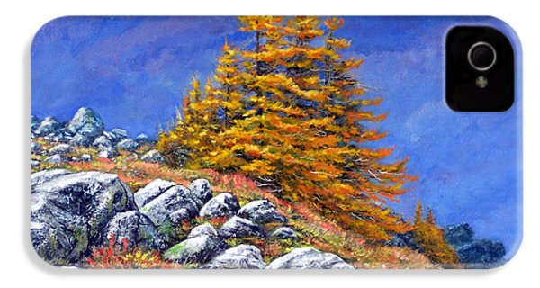 Mountain Tamaracks IPhone 4 / 4s Case by Frank Wilson