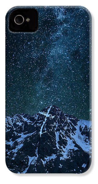 IPhone 4 Case featuring the photograph Mt. Of The Holy Cross Milky Way by Aaron Spong