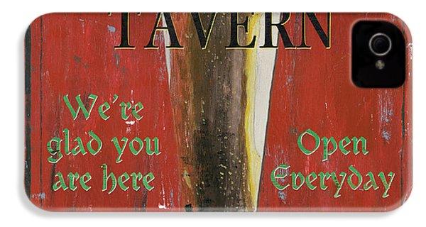 Murphy's Tavern IPhone 4 Case by Debbie DeWitt